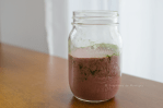 keto recipe, low carb matcha raspberry smoothie, creamy-low-carb-matcha-raspberry-smoothie-keto-friendly-recipe-green-tea-mason-jar-ketogenic-smoothies