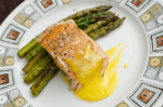 salmon-asperagus-hollandaise-sauce-butter-vintage-plate-ottawa-food-blogger-photographer