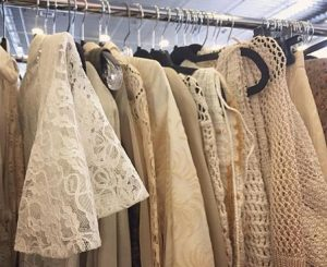 365 days of happy project - day 85 - stephanie de montigny - ottawa vintage clothing show market lace dress antique finds