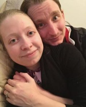365 days of happy project - day 86 - stephanie de montigny - couple goals feel good snuggle cuddle