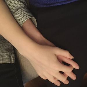 365 days of happy project - day 180 - stephanie de montigny - couple goals holding hands cuddles