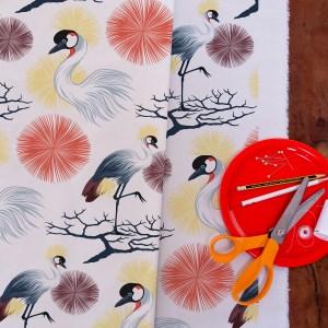 StephanieDesbenoit-fabric-birds-grue