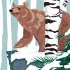 StephanieDesbenoit-poster-wildworld-whiteforest-1