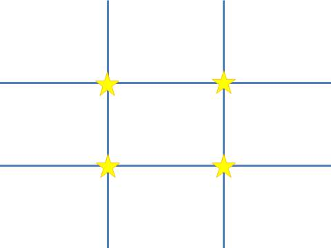 rule of thirds template for slide layout evergreen data