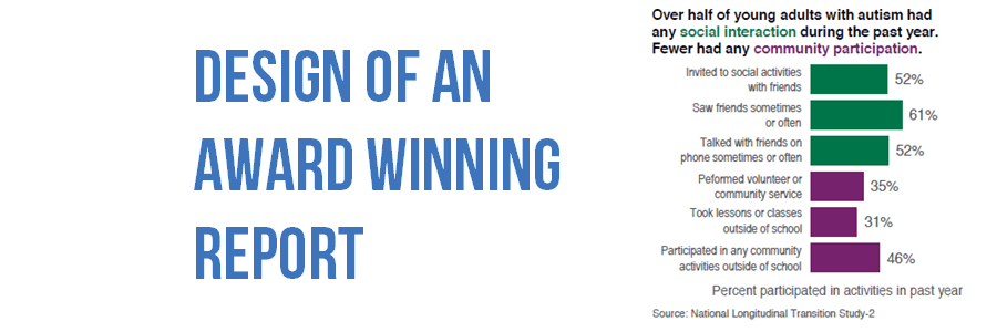 Design of an Award Winning Report