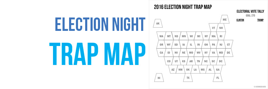Election Night Trap Map