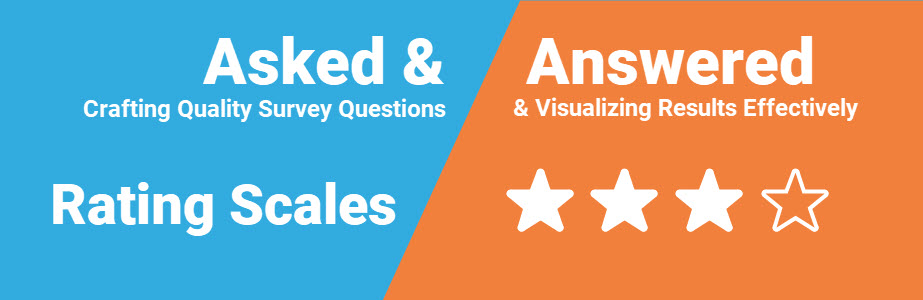 Asked and Answered: Visualizing Rating Data