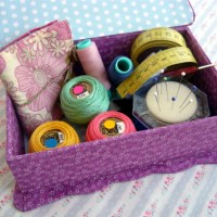 How to make a traditional Hand Made Sewing Box