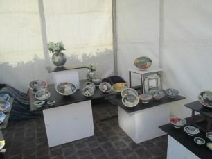Stand de Madame et Monsieur Gardelle Louise et Michel, biennale de la céramique, steenwerck 2017