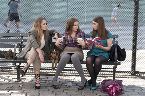 Characters from HBO's Girls