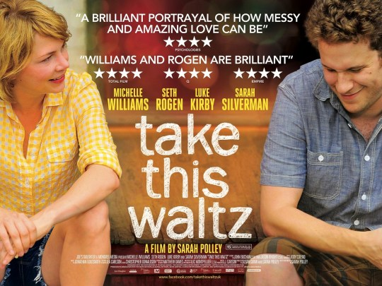 Take This Waltz UK Poster