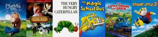 Netflix #StreamTeam Books on Film little kids