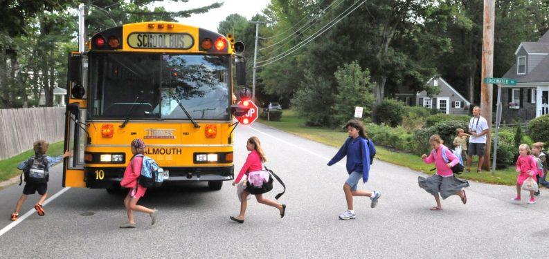 School Bus Boarding