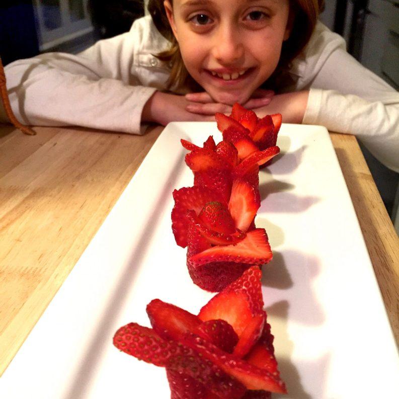 Strawberry Roses for Kids