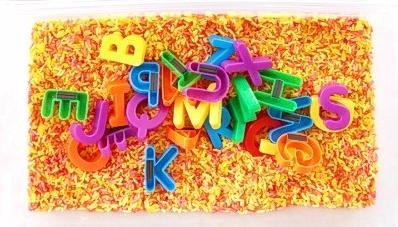 alphabet pan