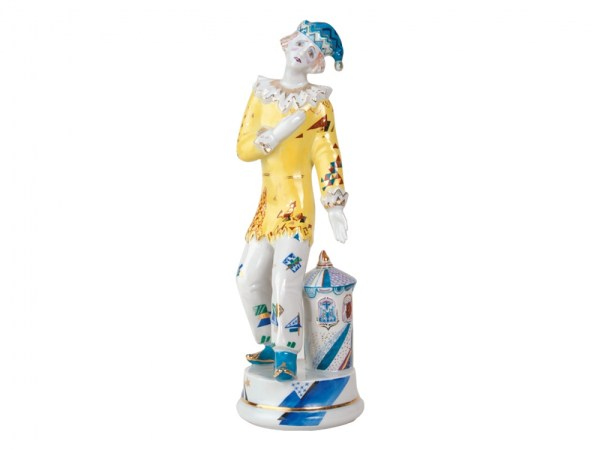 Porcelain figurine Petrushka