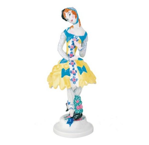 Porcelain Figurine Colombina