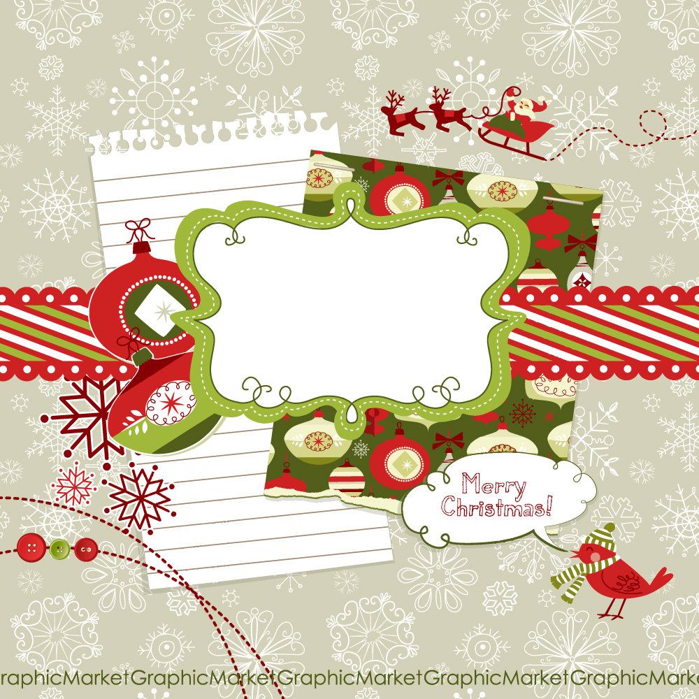 Scrapbook Claus Is Coming To Townn Stephanie Louisa