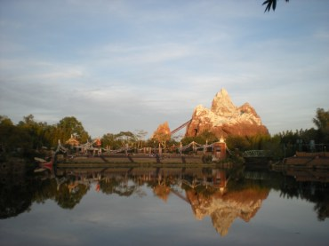 View from the eating area of Flame Tree Barbecue