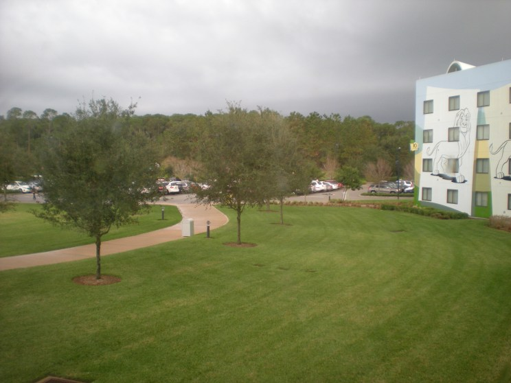 The soon-to-be rainy view
