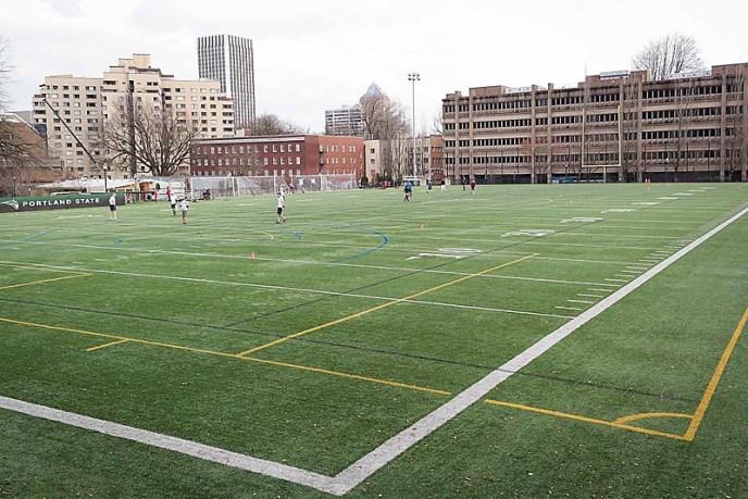 Portland State University Stott Community Field
