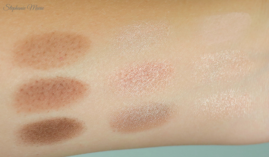 Charlotte Tilbury Palette Swatches