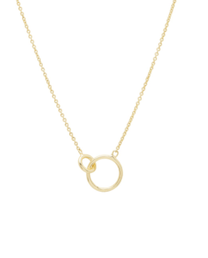 I wear this pretty much every time I wear gold jewelry. It's perfect!