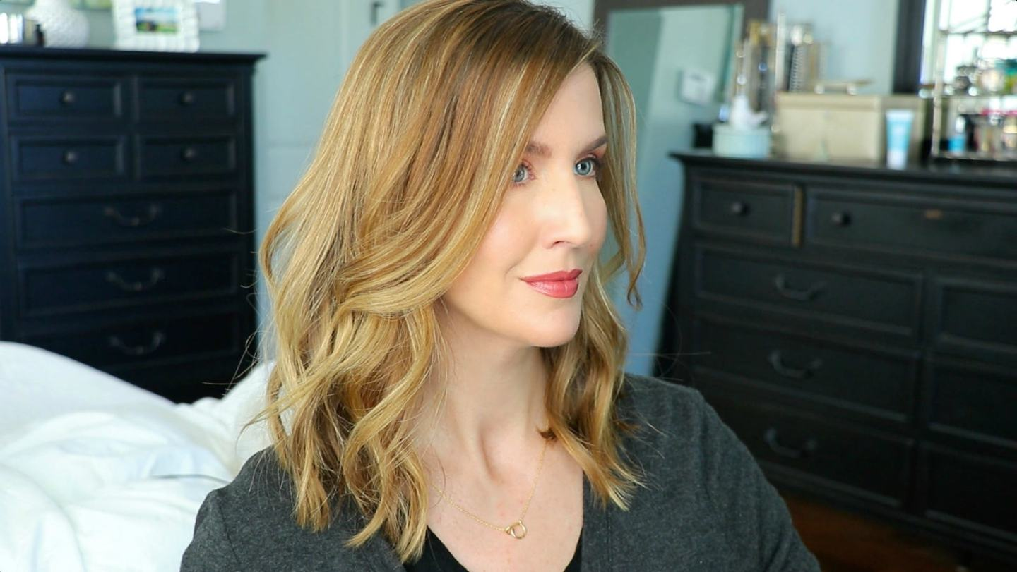 how to style a lob haircut messy curls