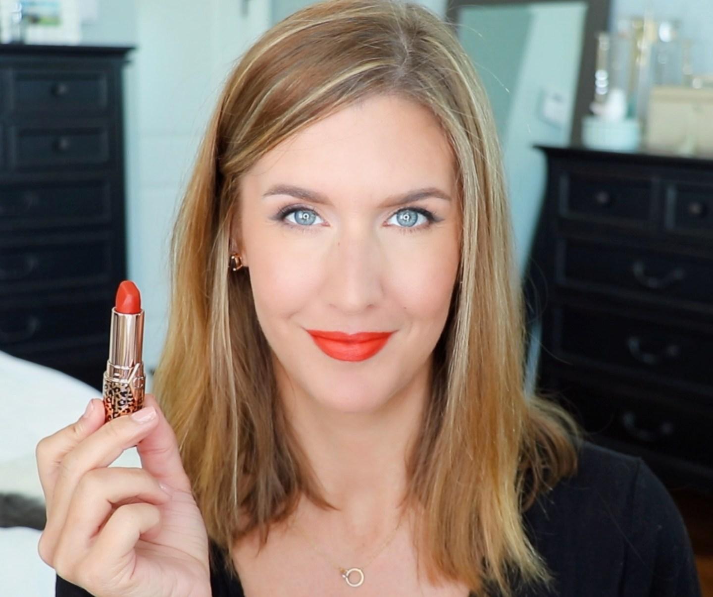 Charlotte Tilbury Hot Lips 2 Red Hot Susan Lip Swatch