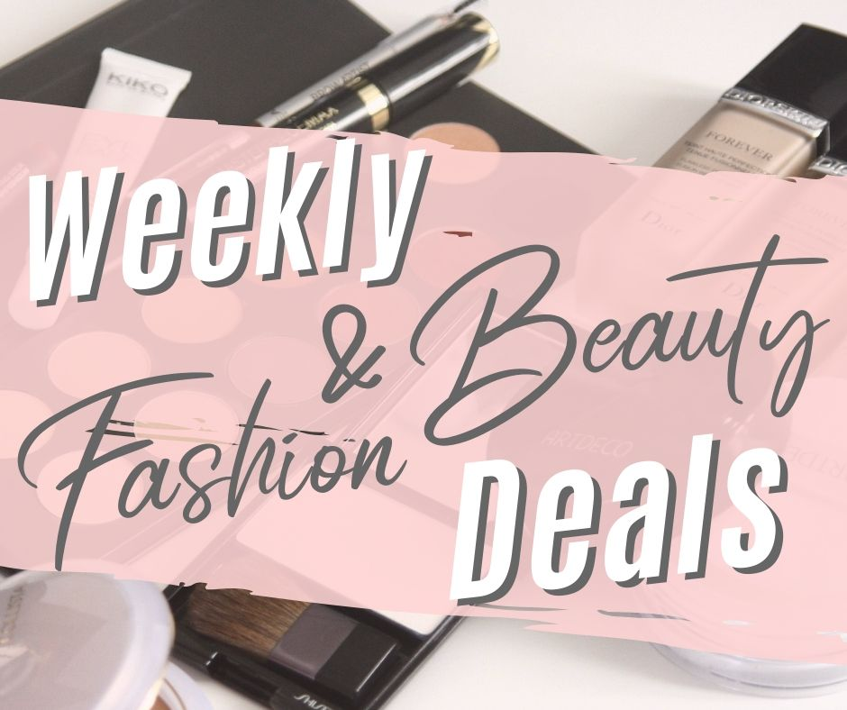 Weekly Beauty & Fashion Deals – July 15, 2019