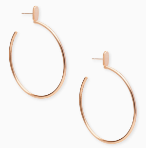 Hoops with a twist in 3 metals. I have these in gold!