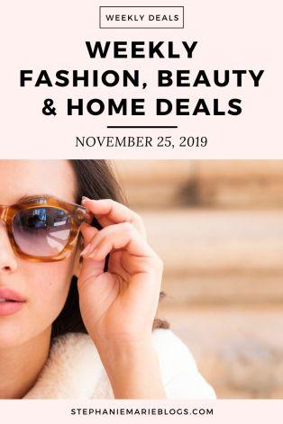 November 25, 2019 weekly online deals