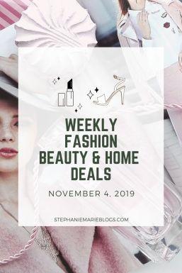 November 4 weekly online deals