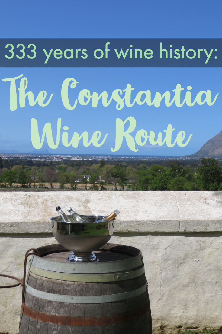 333 Years of Wine History: The Constantia Wine Route