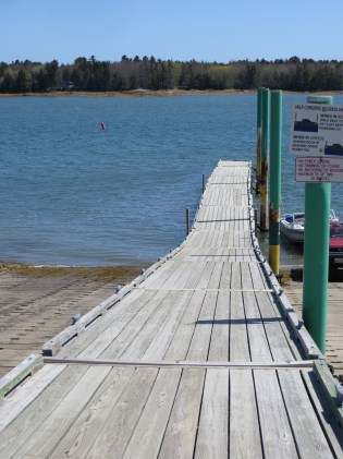 Down to the ocean/Weathered wooden planks take us/To the Atlantic