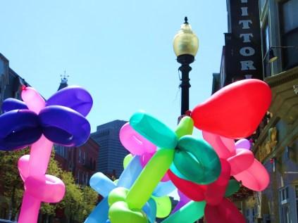 Balloons' eye view of Boston