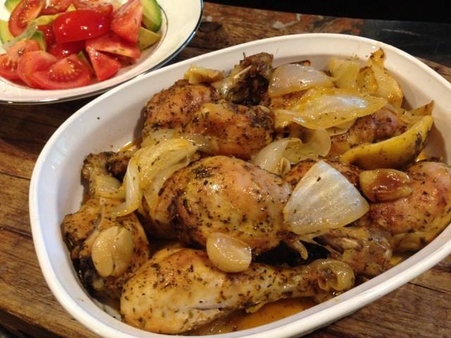 Chicken legs Baked