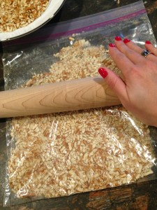 pretzel chicken rolling pin
