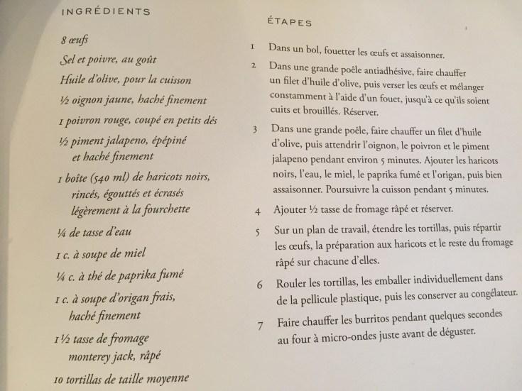 French burritos