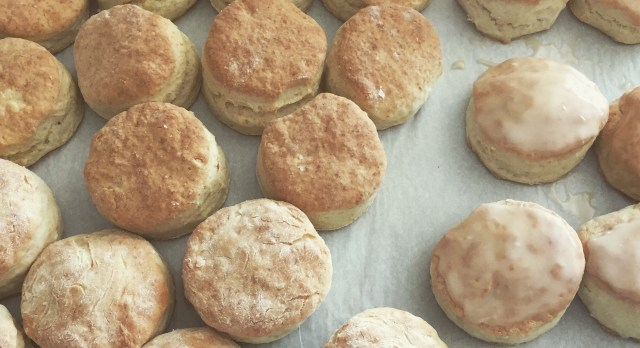 Biscuits cropped cookie sheet
