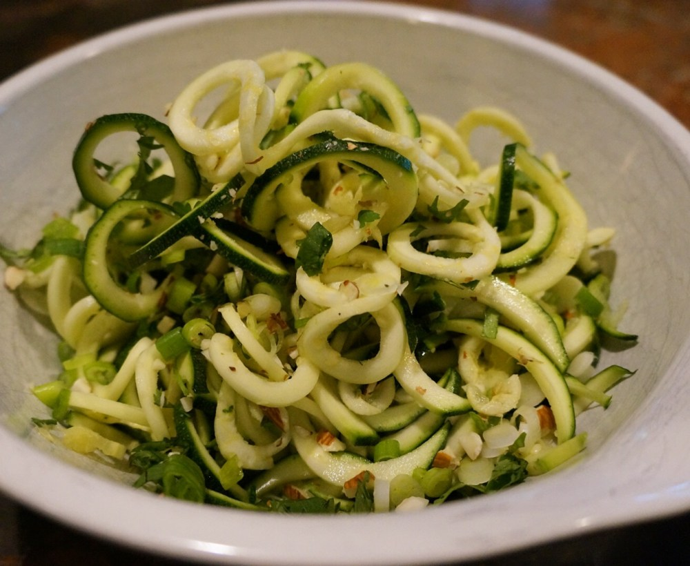 Zoodles raw