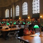 Boston Public Library Reading Room