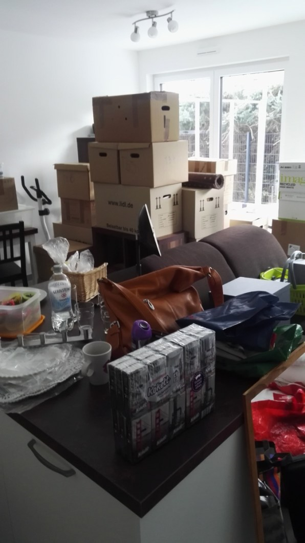 Jetzt heißt es auspacken!