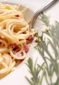 Spaghetti Carbonara - das Soulfood schlechthin.