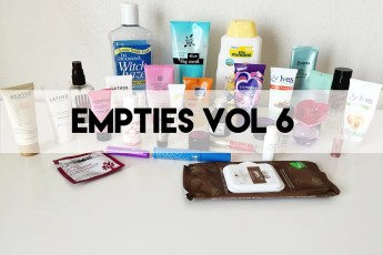 empties v. 6 // stephanieorefice.net