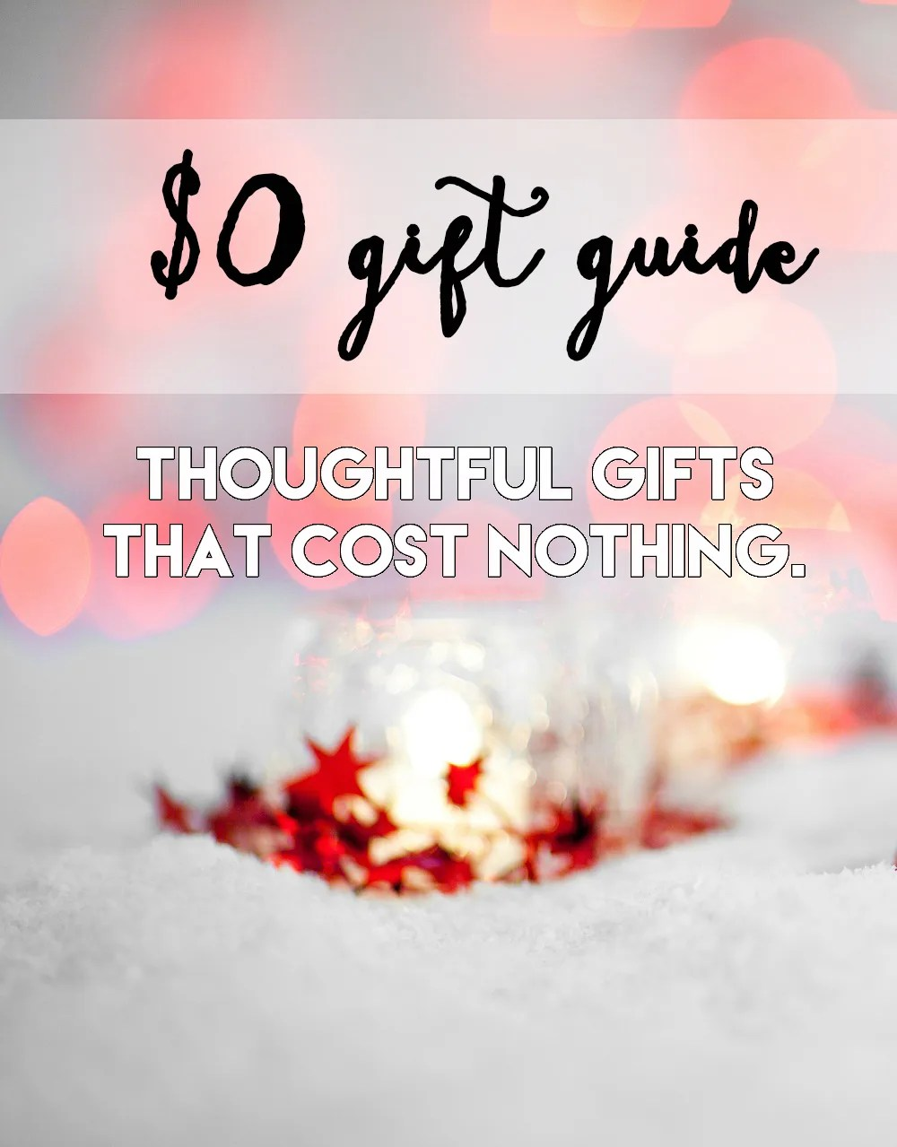 $0 gift guide // stephanieorefice.net