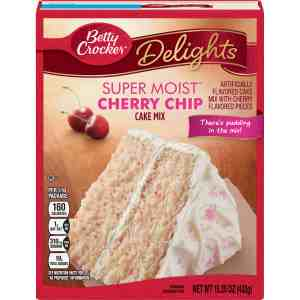 Betty Crocker Cherry Chip Cake Mix