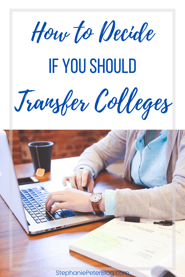 should you transfer colleges