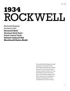 Type Specimen Booklet, spread 4