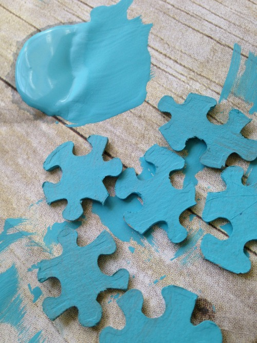 Autism Awareness Craft